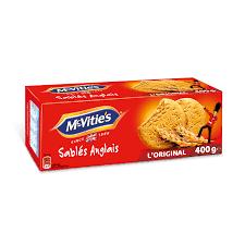 cuisine des sables voiron biscuits sablés anglais mc vitie s mc vitie s la boite de 27