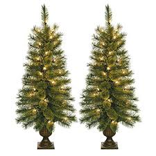 Pre Lit Topiary 3 Feet Christmas Tree Christmas Lights Decoration