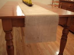 burlap table runner choose your size or custom size available zoom