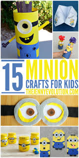 creative minion crafts for kids the jenny evolution