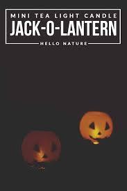halloween lantern craft mini tea light jack o lantern diy hello nature