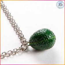 resin necklace wholesale images Yiwu fashion resin avocado jewelry avocado necklace wholesale jpg