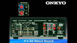 onkyo home theater system 5 1 onkyo how to series hook up 5 1 or 7 1 speaker configuration