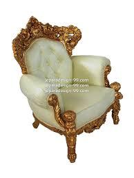 single seater sofa sf 001 ss std gold leaf