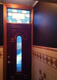 marina borker stained glass quick pic of new simple door and