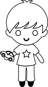 toy car boy coloring wecoloringpage