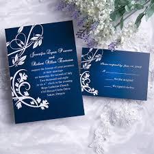 royal wedding invitation charming gradient blue wedding invitation iwi073 wedding