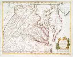 Map Of North Carolina And Virginia by File A Map Of The Most Inhabited Part Of Virginia Containing The