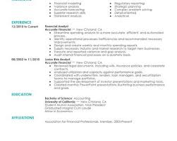Resume Objective Financial Analyst Sample Resume Career Objective Finance Graduate Resume Ixiplay