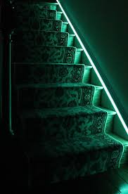 Diy Led Light Strip by How To Install Under Stair Lighting U2014 1000bulbs Com Blog