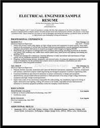 Objective For Electrical Engineer Resume Journeyman Electrician Resume 4 Apprentice 19 Examples Example