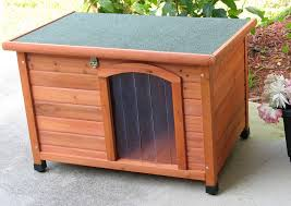 Slanted Roof House Dog House Insulated
