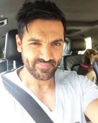 abraham john watch john abraham becomes a chauffeur for his cute dog