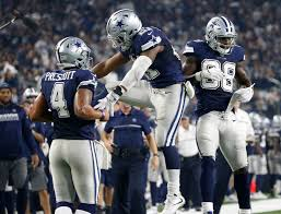 dallas cowboys thanksgiving record prescott strong arm even running as cowboys win 10th in row wtop