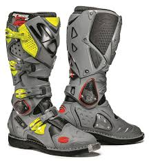 yellow motocross boots crossfire 2 ta offroad mx boots by sidi slavens racing