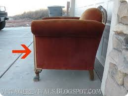Recovering An Armchair How To Reupholster A Chair I Think U2022 Vintage Revivals