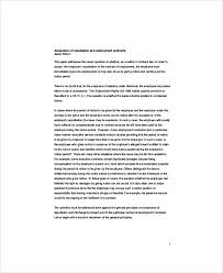 breach of employment contract sample 6 examples in word pdf