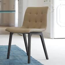 bontempi sedia chaise confortable en cuir kuga par bontempi arredaclick