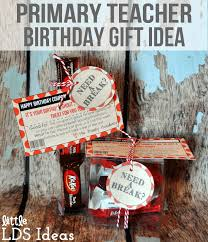 lds primary birthday coupon from lds ideas