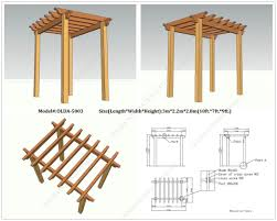 wooden garden arch designs wood project wood garden arbor plans