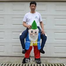 Halloween Costumes Man Bearded Man Prosthetic Leg Mascot Cartoon Mascot Costume