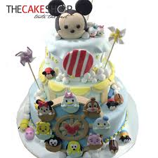 tsum tsum in ferris wheel cake delivery singapore