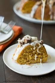 halloween candy gluten free pumpkin bundt cake fearless dining