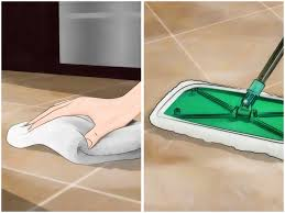 Bathroom Tile Flooring by 4 Ways To Clean Grout Between Floor Tiles Wikihow