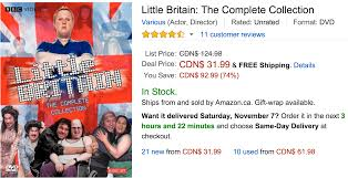 amazon ca black friday sale amazon canada black friday deals of the day save 74 on little