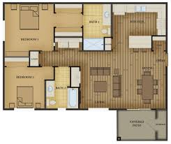 Two Bedroom Floor Plan Two Bedroom Floorplan Ruby Vista Apartments Elko Nevada