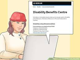 5 ways to get social security disability wikihow