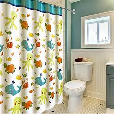 Cotton Shower Curtains Shower Curtain Wimaha Fabric Shower Curtains Soft