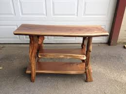 Walnut Sofa Table by Adirondack Furniture By Adk Rustic Interiors Specializing In Log