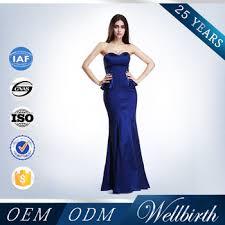 navy blue color backless beaded diamond elegant mermaid long tight