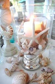 themed candles themed candles themed table setting with shell candle