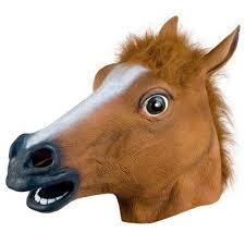 popular horse head halloween buy cheap horse head halloween lots