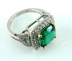 emerald jewelry rings images Faux emerald ring created gemstones emerald jewelry my faux jpg