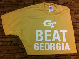 Georgia travel vests images Georgia tech beat georgia t shirt go jackets georgia tech jpg