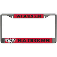 msu alumni license plate frame wisconsin badgers license plates of wisconsin license
