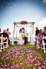 The Beach House Poipu by A Beautiful Oceanfront Wedding Ceremony At The Beach House On