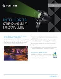 Intellibrite Landscape Lights Intellibrite Color Changing Led Landscape Light
