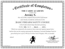 review the carry academy u0027s online ccw safety course the truth