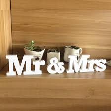 Wooden Mr  Mrs Wedding Sign Marriage Home Decoration Creative - Home decoration suppliers