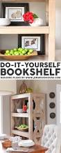 diy bookcase plans build bookcase furniture plans and projects