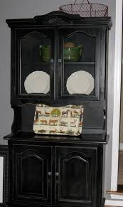 china cabinet black chinabinet with glass doors in blackblack