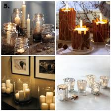 Mason Jar Candle Ideas Easy U0026 Inexpensive Christmas Tablescape Ideas House To Home Blog