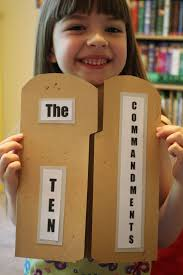 Ten Commandments Worksheets For Kids Best 25 Ten Commandments Craft Ideas On Pinterest 10