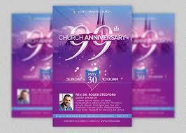 church celebration flyer template inspiks market