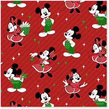 cheap christmas wrapping paper disney mickey and minnie jumbo christmas wrapping paper roll 80
