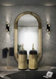 oversized mirrors that are the perfect match to any bathroom set